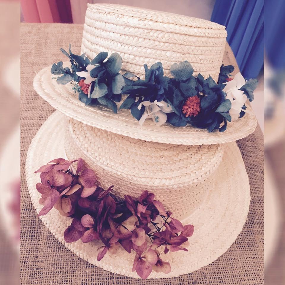 LA CROIXÉ sombreros paja