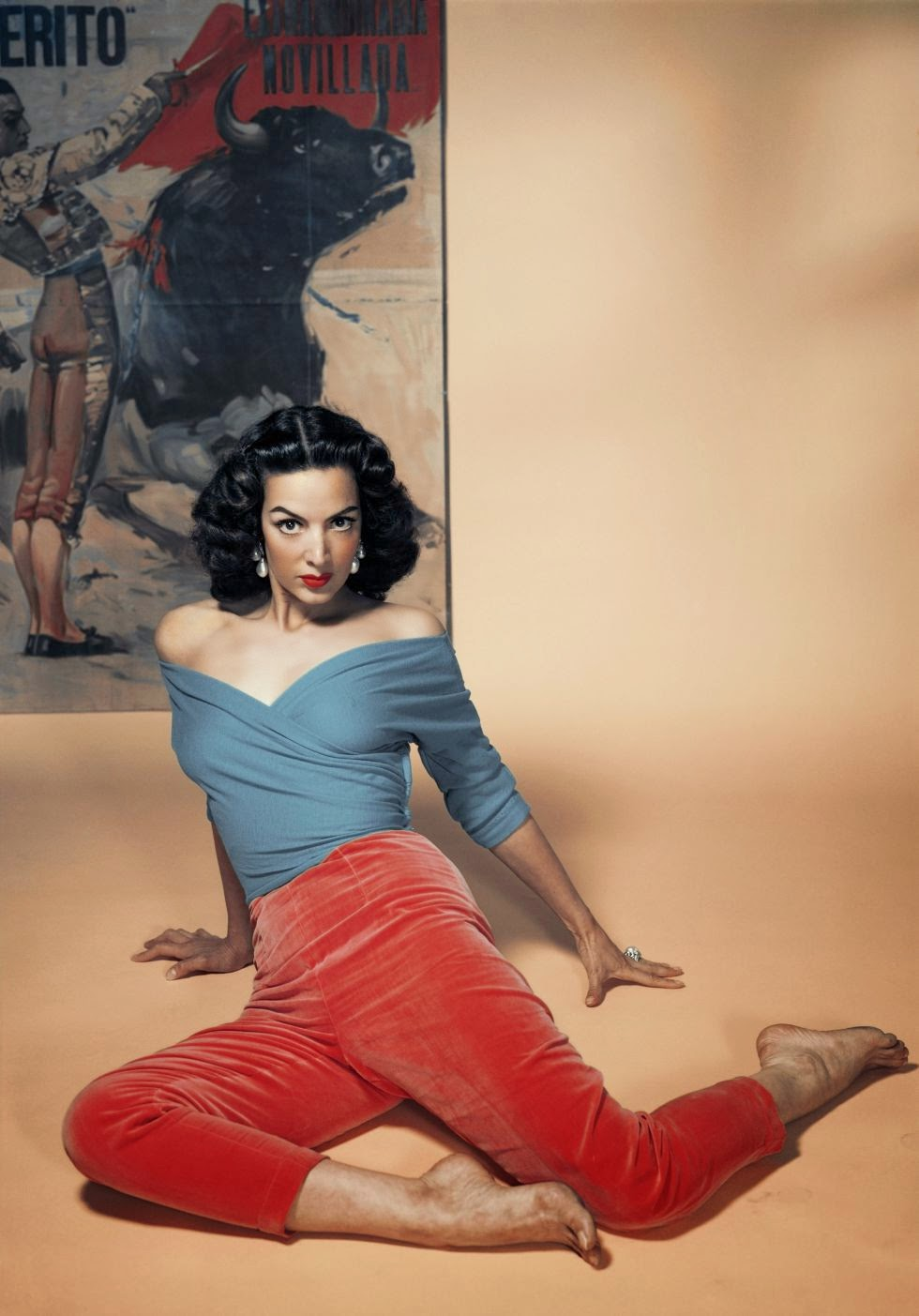 María Félix_Philippe Halsman_1956