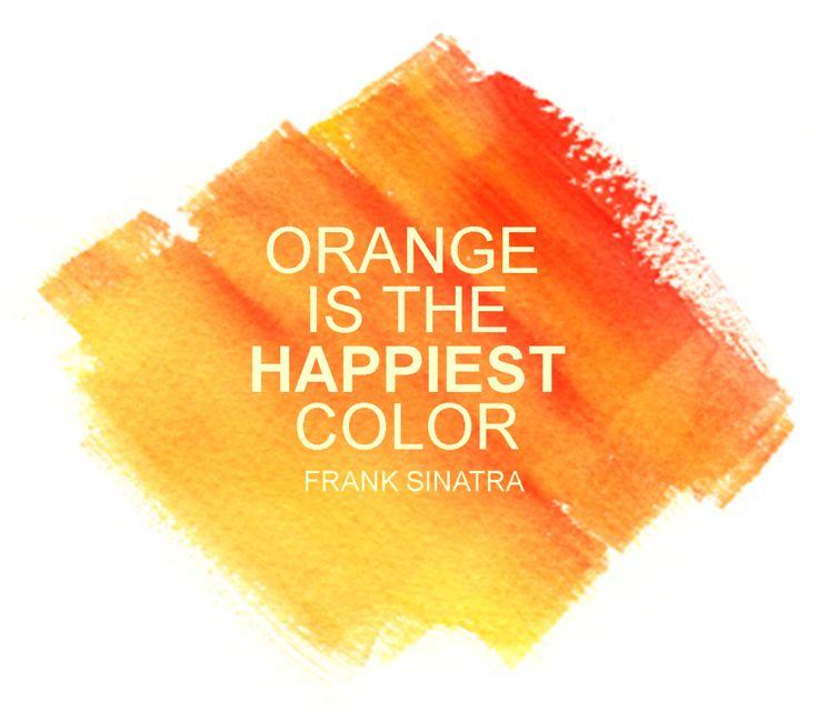 orange happiest color